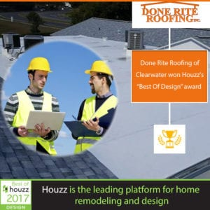 Done Rite Roofing Has Been Awarded Best Of Houzz