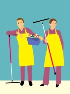 Repairs and clean-up to do before you move into a new apartment